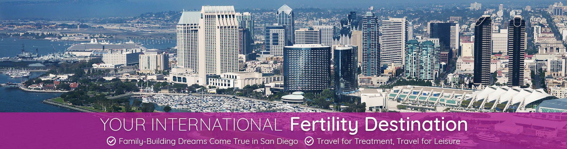 Your International Fertility Destination - Family-Building Dreams Come True in San Diego, Travel for Treatment, Travel for Leisure