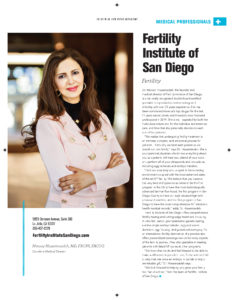 San Diego Magazine - Top Doctors Cover - October 2019