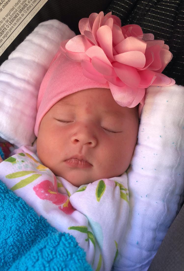 miracle baby sleeping